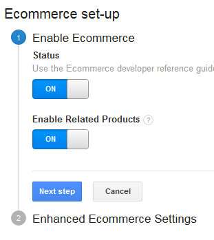 Enable ecommerce and related products