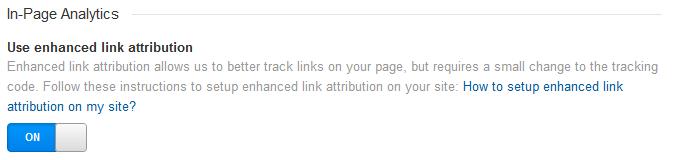 Use enhanced link attribution