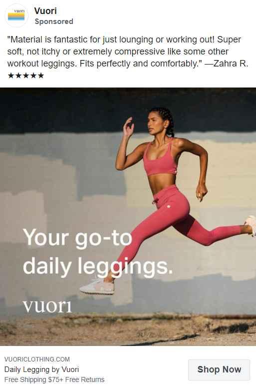 Vuori Facebook Ads